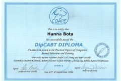 dyplom COAPE